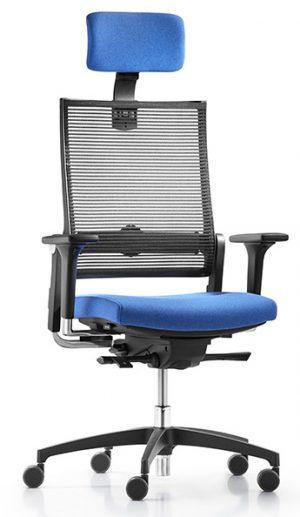 Dauphin lordo flex bureaustoel met neksteun