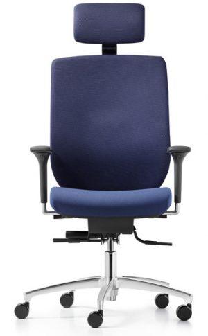 Dauphin bionic bureaustoel met ergo-neksteun