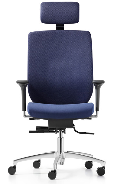Bureaustoel Met Neksteun.Bionic Bureaustoel Van Dauphin Comfortabel En Ergonomisch