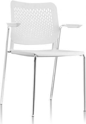 A490-stapelbare-kunststof-kantine-stoel-met-armleggers-en-geperforeerde-rug