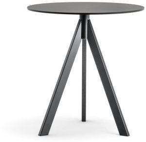 Arki-3-kleine-design-tafel-met-een-volkern-blad-in-rond-of-vierkant-en-3-schuine-poten