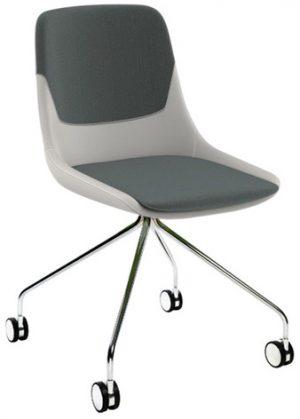 Brunner crona 6373 stoel met wieltjes