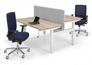 Flex light bench bureau slinger verstelbaar