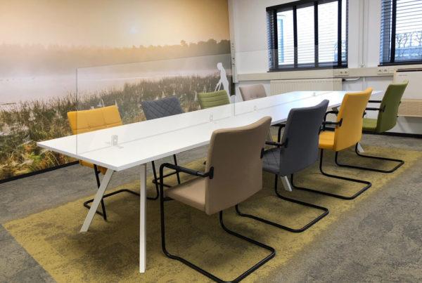 Plexiglas oplossingen voor kantoor